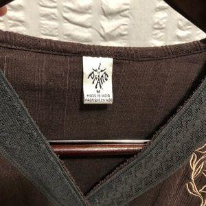 Prana Tops - PrAna Embroidered Top